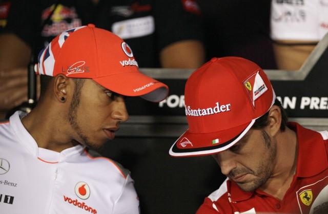 Alonso i Hamilton