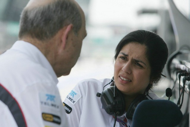 Monisha-Kaltenborn_and_Peter_Sauber