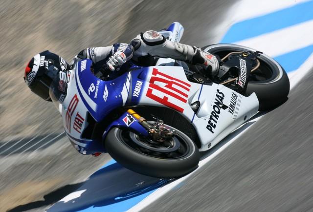 Jorge Lorenzo Fiat Yamaha Team