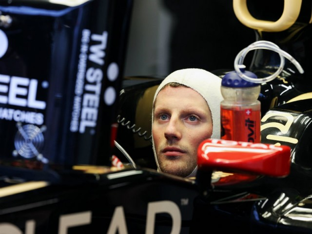Romain-Grosjean-Lotus
