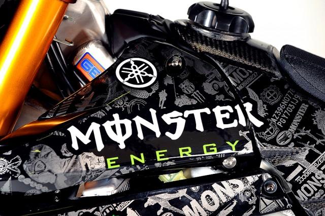 Monster bike tank