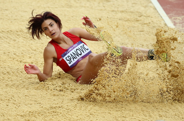 OLYMPIC GAMES-OLIMPIJADA-LONDON 2012-IVANA SPANOVIC