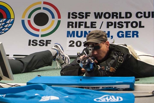 50m Rifle Prone Men at the 2013 ISSF World Cup Munich
