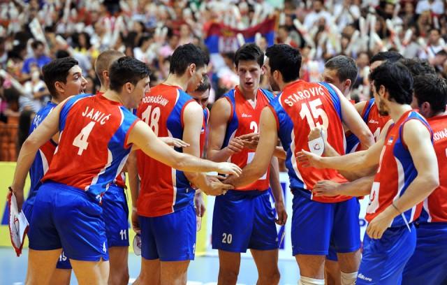 Serbia celebration