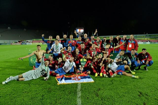 France v Serbia - UEFA European Under-19 Championship final