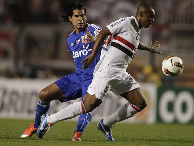 Brazil Chile Soccer Copa Sudamericana