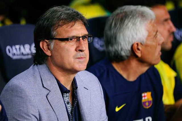 Gerardo+Tata+Martino+Barcelona+v+Santos+Pre+gnURs6qYeeYl