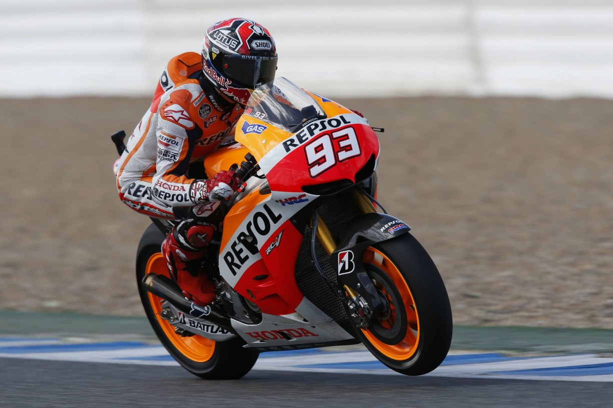 marc-márquez-on-the-gas