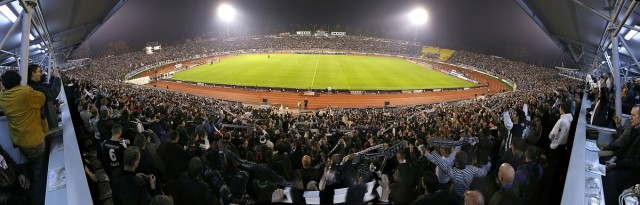 Uefa Cup-group stage. Partizan Belgrade Vs. Sampdoria