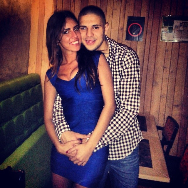 Aleksandar Mitrović sa devojkom Kristinom