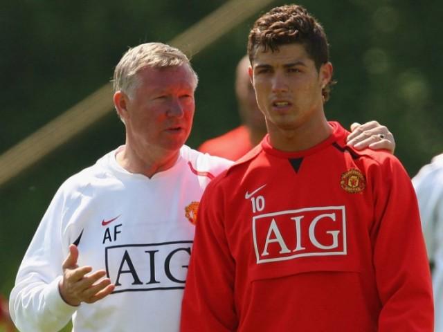 Ferguson i Ronaldo