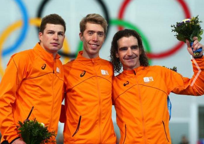 Holandjani brzo klizanje 10km