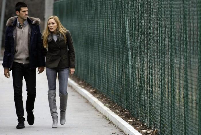 Novak Đoković sa devojkom Jelenom