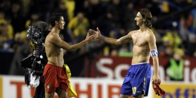 Ronaldo i Ibrahimović