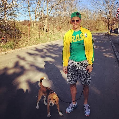 Milunovic sa psom