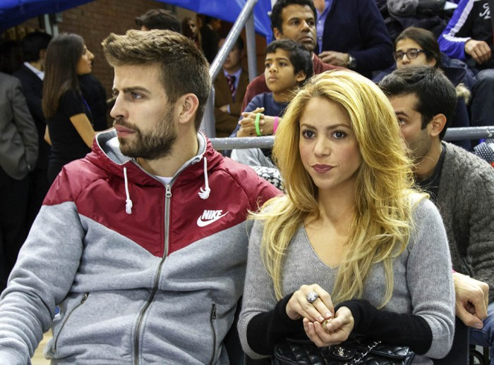 Shakira and Gerard basketball