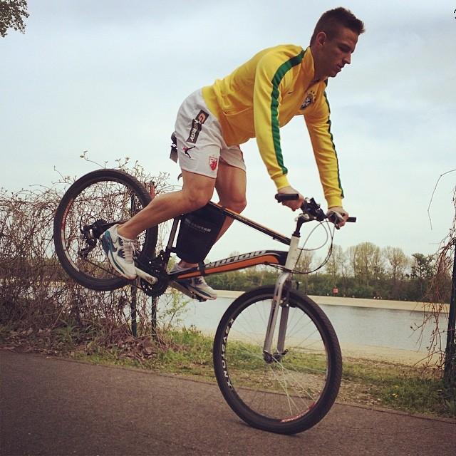 Luka Milunović bike