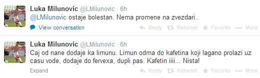 Luka Milunovic komentator