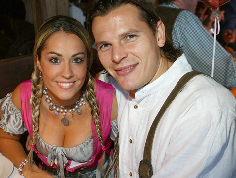 Bayern München auf dem Oktoberfest