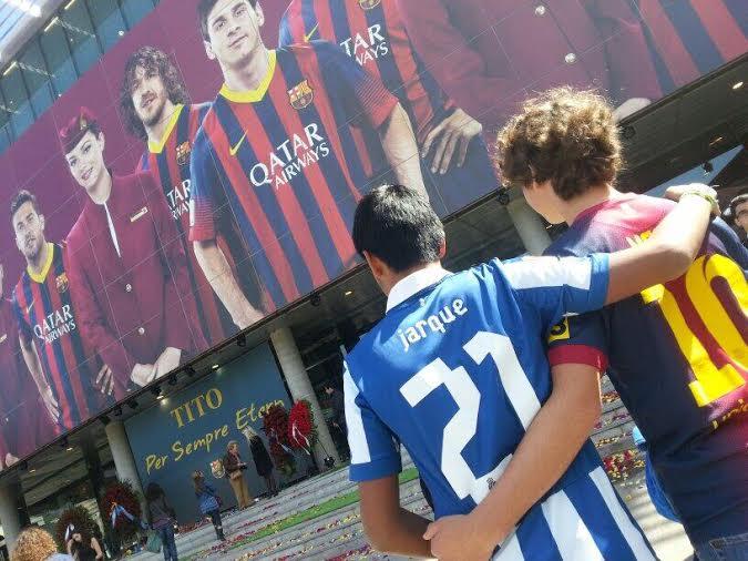 navijaci Barse i Espanjola