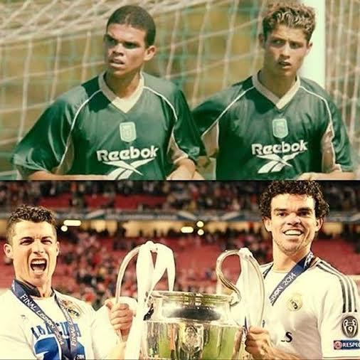 Pepe i Ronaldo drugari
