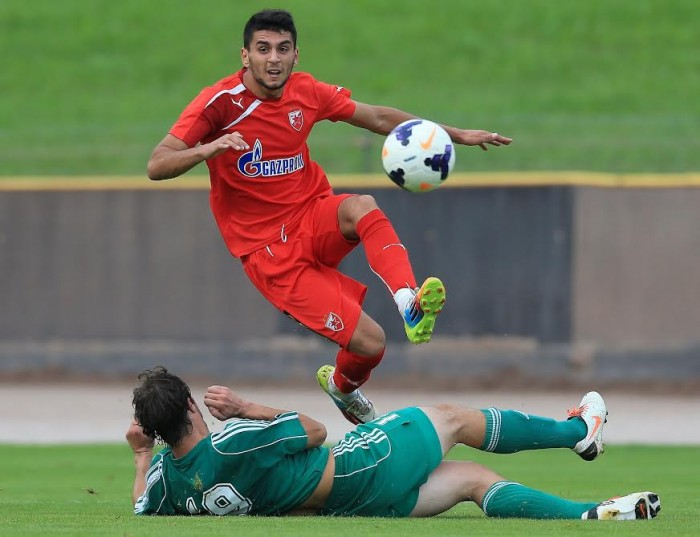 Avramovski in action for Crvena Zvezda; photo: alchetron.com