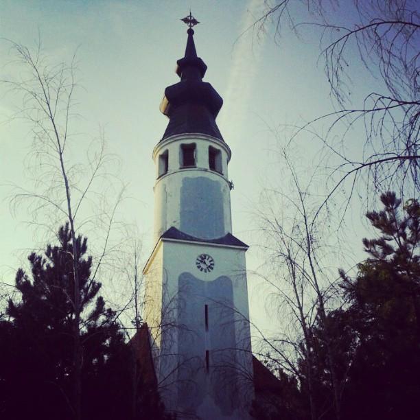 Crkva u banatskom selu Belo Blato