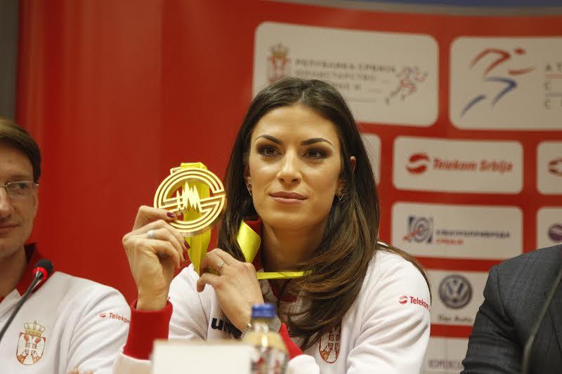Ivana Spanovic medalja