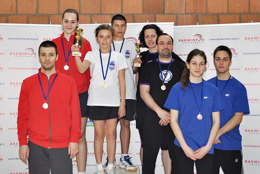 XV B turnir – Pancevo 2015_Osvajaci medalja u mesovitim parovima