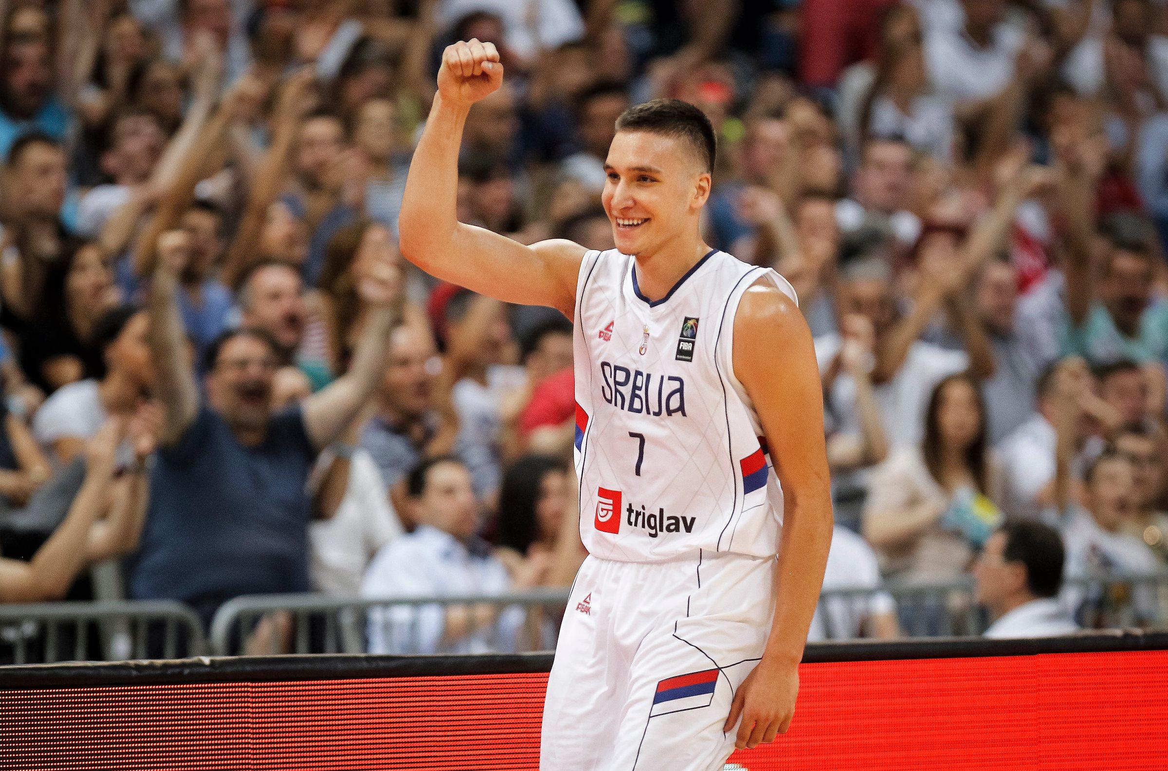 Vesti - KO JE, BRE, TAJ BOGDANOVIĆ: Američki mediji začuđeni potresom koji izaziva srpski as dolaskom u NBA (FOTO)