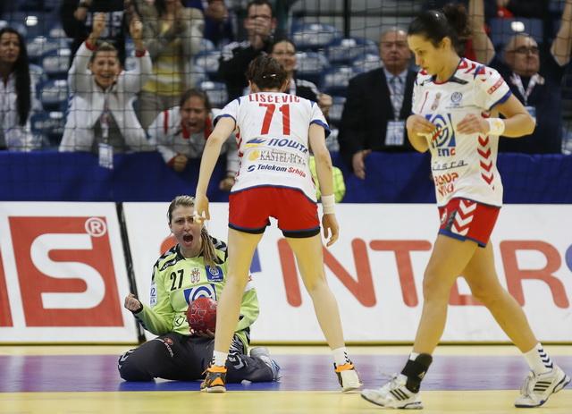 2012 EHF European Women's Handball Championship Main Group II - Serbia v France