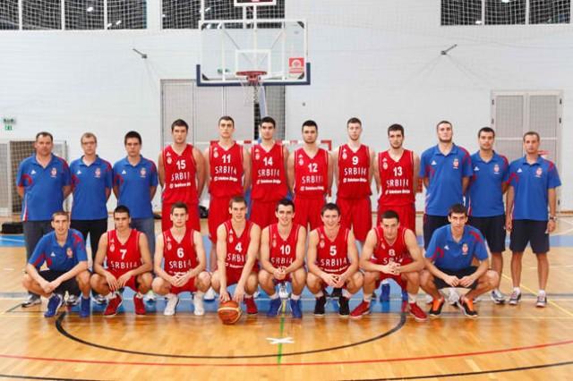U18 Srbija grupna