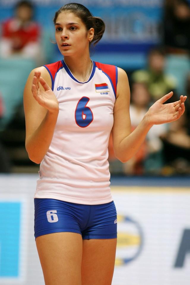 Jovana BRAKOCEVIC of Serbia