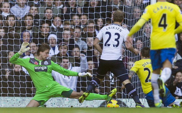 2013 Premier League Tottenham Hotspur v Newcastle United Nov 10th