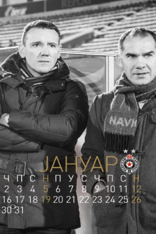 Partizan kalendar
