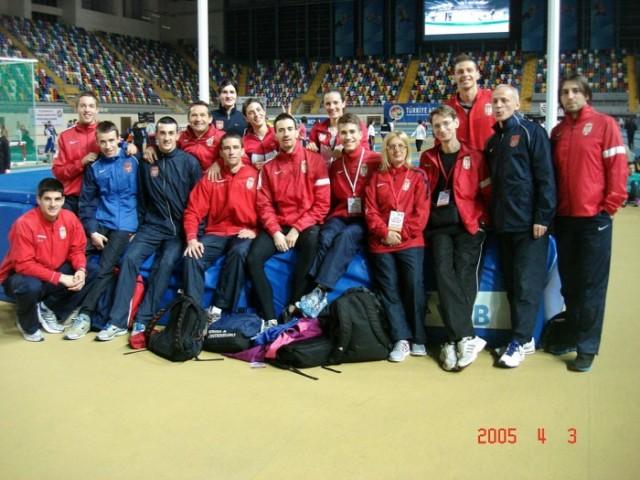 Atletičari Srbije