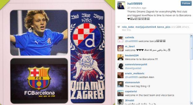 Halilovic instagram