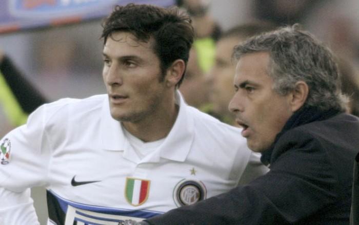 Javier Zanetti, Jose' Mourinho