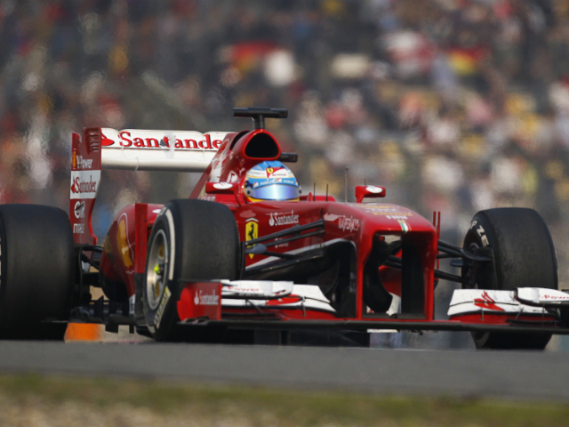 Fernando Alonso 2013 Chinese GP