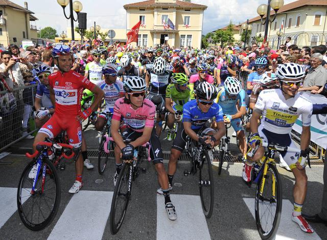 Italy Cycling Giro