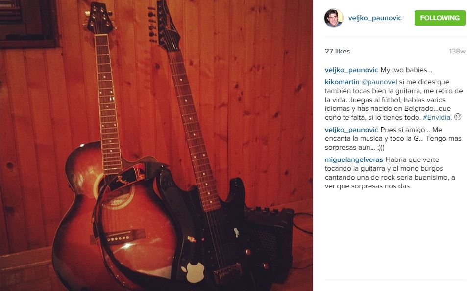 FOTO: Instagram/veljko_paunovic