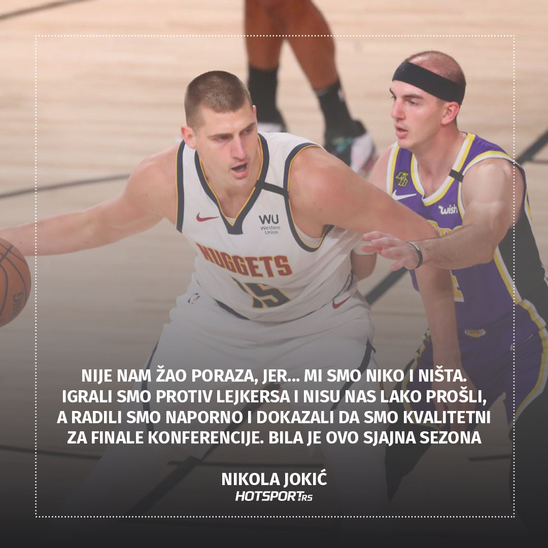 Izjava dana Nikola Jokić