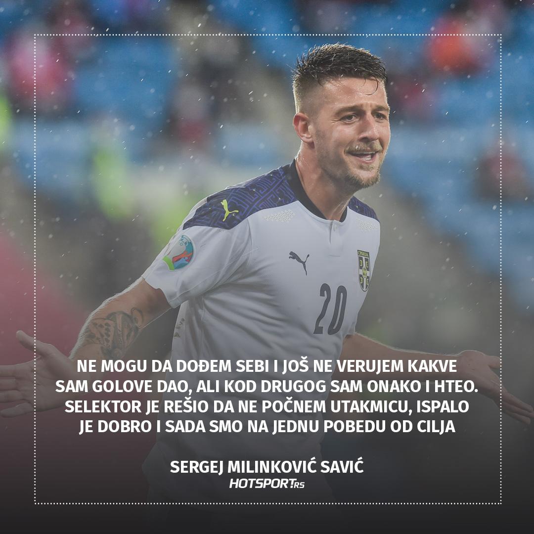 Izjava dana Sergej Milinković Savić